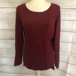 LC Lauren Conrad Ribbon Sleeve Sweater